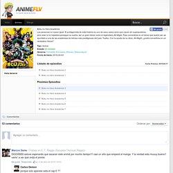 Boku no Hero Academia Online - AnimeFLV