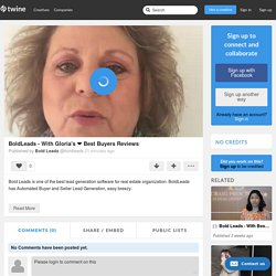 BoldLeads - With Gloria's ❤ Best Buyers Reviews by Bold Leads