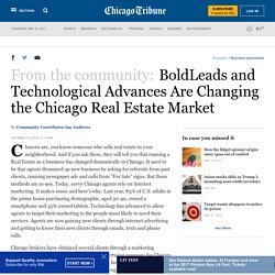 BoldLeads and Technological Advances Are Changing the Chicago Real Estate Market