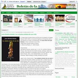 Justo Bolekia Boleká, Los callados anhelos de una vida - Boletín de la AEA