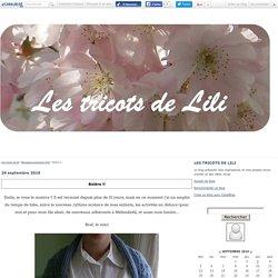 Boléro !! - Les tricots de lili