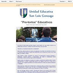 Boletín UE Gonzaga mayo 2015