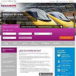 Rail Europe - Guía de viajes en tren Europa – Viajar por Europa en tren (Eurostar – TGV - Eurail – Eurorail – Renfe)