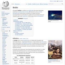 Bolide