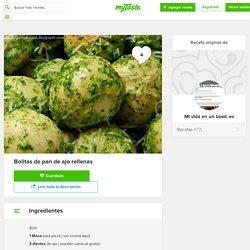 Bolitas de pan de ajo rellenas - Receta original de myTaste.es