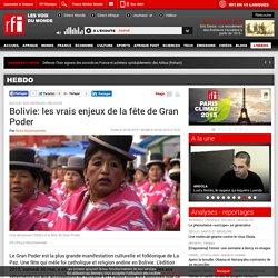 Bolivie: les vrais enjeux de la fête de Gran Poder - Hebdo