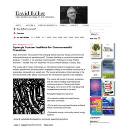 David Bollier | news and perspectives on the commons