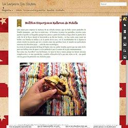 La Larpeira Sin Gluten: Bollitos Esponjosos Rellenos de Nutella