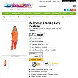 Bollywood Leading Lady Costume - Fancy Dress and Party