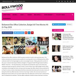 Bollywood Box Office Collection, Budget All Time Movies Hit Or Flop 2020