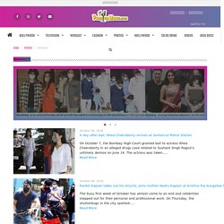 Latest Bollywood Paparazzi News - Photos and Videos - peepingmoon.com