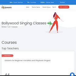 Online Bollywood Singing Classes