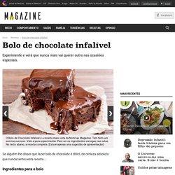 Bolo de chocolate infalível
