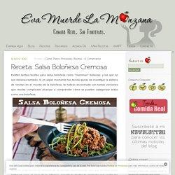 Receta: Salsa Boloñesa Cremosa