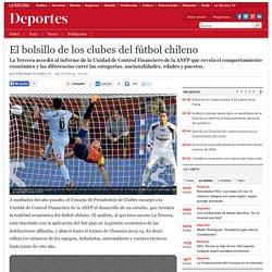 El bolsillo de los clubes del fútbol chileno