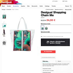Bolso Desigual Shopping Chain Me
