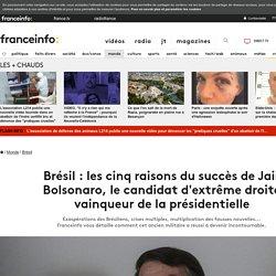 Présidentielle au Brésil : les cinq raisons du succès de Jair Bolsonaro, le candidat d'extrême droite favori du second tour