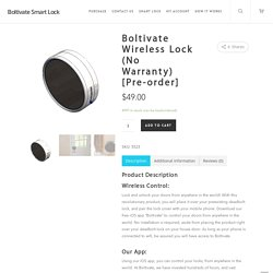 Looking for Affordable Smart Deadbolt Door Lock