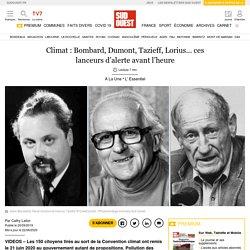 Climat: Bombard, Dumont, Tazieff, Lorius… ces lanceurs d'alerte avant l'heure