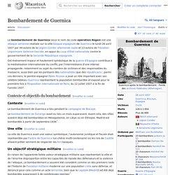 Bombardement de Guernica