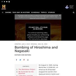 Bombing of Hiroshima and Nagasaki - Causes, Impact & Lives Lost