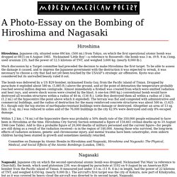 extension one english after the bomb pearltrees a photo essay on the bombing of hiroshima and nagasaki