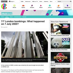 7/7 London bombings: What happened on 7 July 2005? - CBBC Newsround