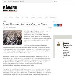 Bomull – mer än bara Cotton Club