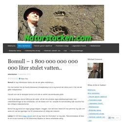 Bomull – 1 800 000 000 000 000 liter stulet vatten..