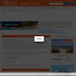 Bon plan Corse : conseil et astuce