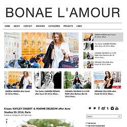 BONAE L'AMOUR - blog de fotos de modelos