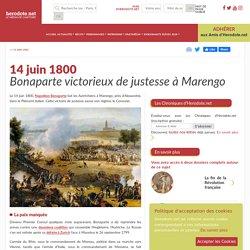 14 juin 1800 - Bonaparte victorieux de justesse à Marengo