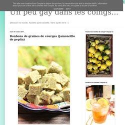 Bonbons de graines de courges (Jamoncillo de pepita)