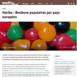 Haribo : Bonbons populaires par pays européen