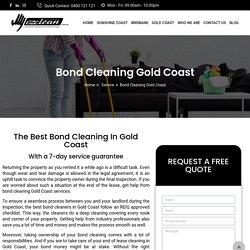 Best Bond Cleaners Gold Coast