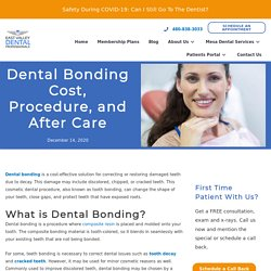 Dental Bonding Cost, Procedure, and After Care