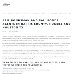 Bail Bondsman Humble, Houston TX & Harris County