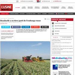 Bonduelle a su tirer parti de l'embargo russe - Agroalimentaire