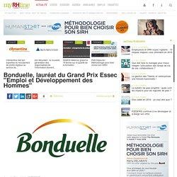 """Bonduelle, lauréat du Grand Prix Essec """"Emploi et Développement des Hommes"""""""