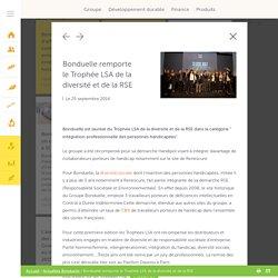 Bonduelle remporte le Trophée LSA de la diversité et de la RSE- Groupe Bonduelle