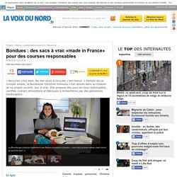 Bondues : des sacs à vrac «made in France» pour des courses responsables