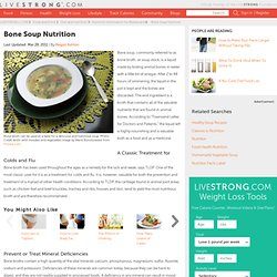 Bone Soup Nutrition