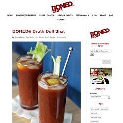 BONED® Broth Bull Shot
