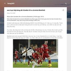 xem trực tiếp bóng đá Schalke 04 vs Arminia Bielefeld