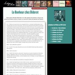 Le Bonheur chez Diderot – Lettres & Arts