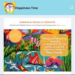 Bonheur au travail et créativité - Happiness Time (DuckDuckGo, Bonheur et Créativité au travail)