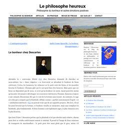 Le bonheur chez Descartes