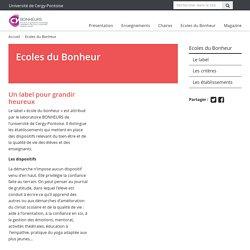 Ecoles du Bonheur - Laboratoire BONHEURS - EA 7517