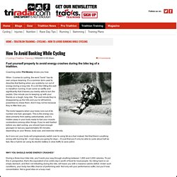 How To Avoid Bonking - Triathlon Plus