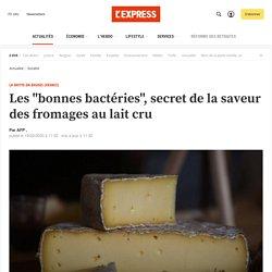 """Les """"bonnes bactéries"""", secret de la saveur des fromages au lait cru"""